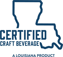 Baton Rouge Distilling's Strawberry Brandy is a Louisiana Certified Craft Beverage