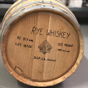 Baton Rouge Distilling Rye Whiskey