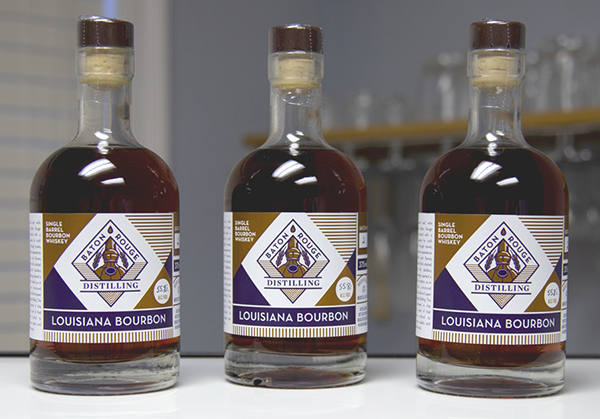 Baton Rouge Distilling Whiskey